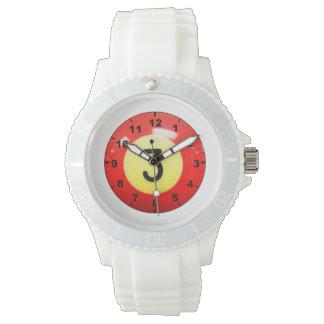 """""""3球""""のデザインの腕時計 腕時計"""