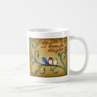 3羽の小さい鳥 コーヒーマグカップ