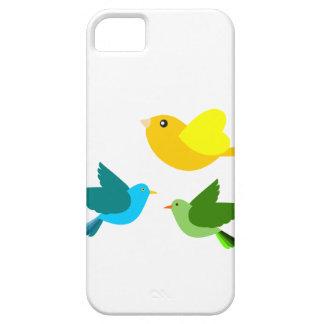 3羽の小さい鳥 iPhone SE/5/5s ケース