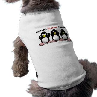 3羽の賢いペンギン ペット服