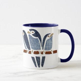 3羽の鳥 マグカップ