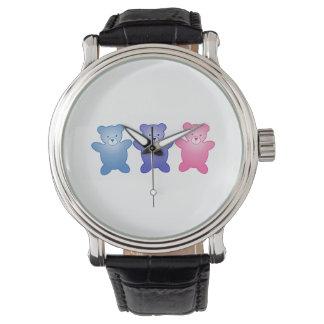 3頭のくま 腕時計