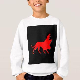 3頭のオオカミ スウェットシャツ