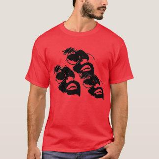 3顔 Tシャツ