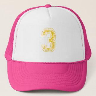 #3黄色い学校代表 キャップ