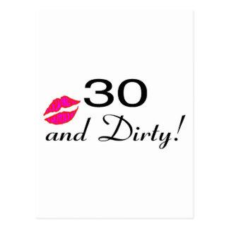 30そして汚れた唇 ポストカード