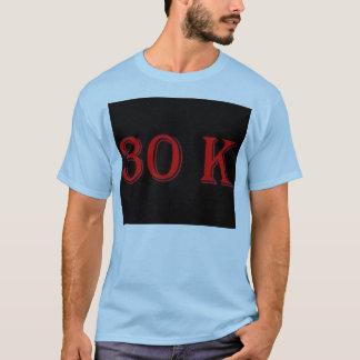 30のKのTシャツ Tシャツ