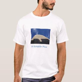 30人のロックフェラーの広場のTシャツのsidieの上で見て下さい Tシャツ