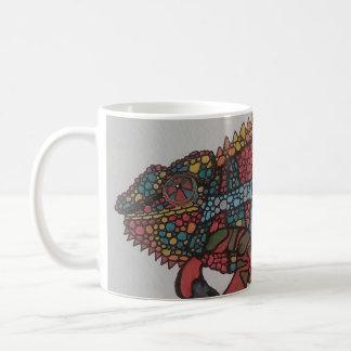 30匹のカメレオン コーヒーマグカップ