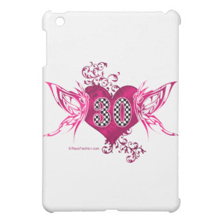 30匹のモータースポーツの蝶 iPad MINIカバー