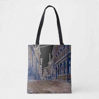 30年代の写真の玉石の通りのオタワカナダの芸術 トートバッグ