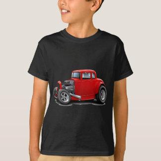 30年代は赤い車を改造しました Tシャツ