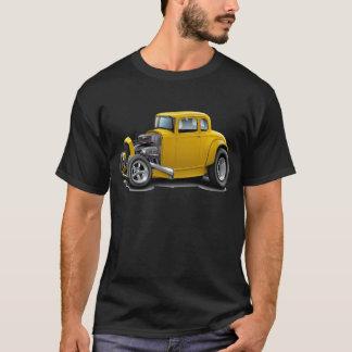 30年代は黄色い車を改造しました Tシャツ