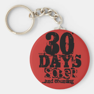 30日の節酒 キーホルダー