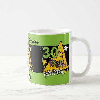 30歳のパーティー好きな人 の第30誕生日 コーヒーマグカップ