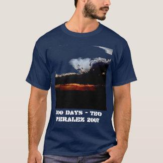 300日-メンズ暗闇のTシャツ Tシャツ
