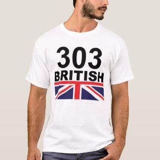 303人のイギリス色 Tシャツ