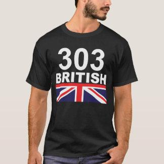 303人のイギリス Tシャツ