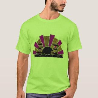 303日の出のネオン版 Tシャツ