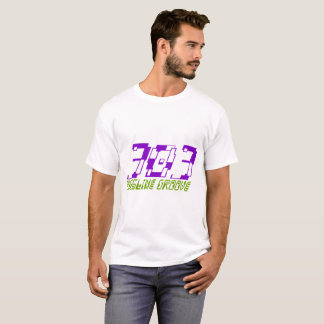 303 Basslineの溝1 Tシャツ