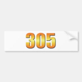 305バンパーステッカー バンパーステッカー