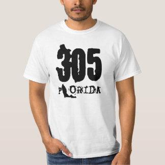 305マイアミのTシャツ Tシャツ