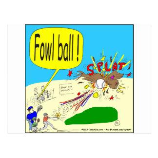 305家禽の球の漫画 ポストカード