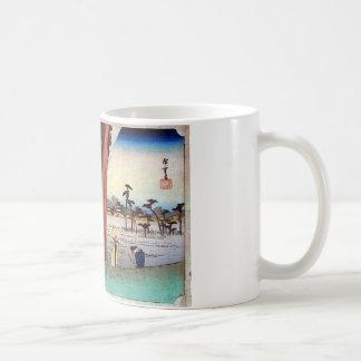 30. 浜松宿, 広重 コーヒーマグカップ