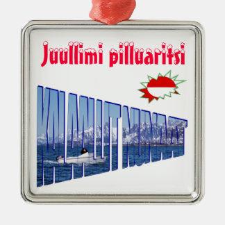 30、7aのJuullimiのpilluaritsi メタルオーナメント