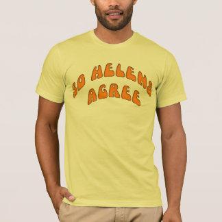 30 Helensは一致します Tシャツ