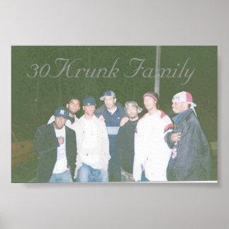 30Krunk家族 ポスター
