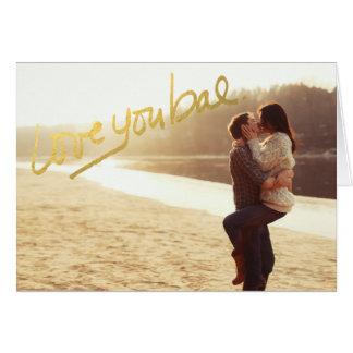 311愛Baeのバレンタイン カード