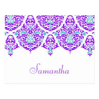 311月曜日Cherieサマンサのプラム水の名刺 ポストカード