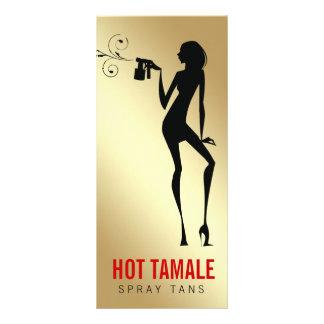 311熱いタマレのスプレーはギフト券を日焼けさせます ラックカード