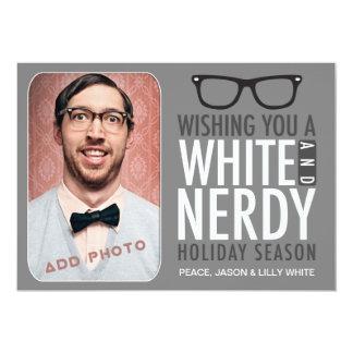 311白く真面目な休暇の季節 カード