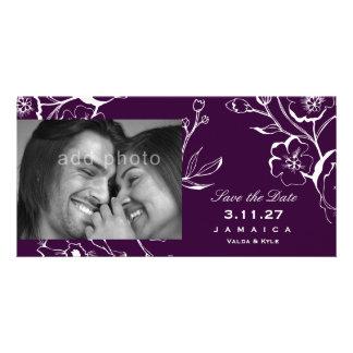 311酒のナスの紫色の保存日付 カード