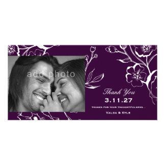 311酒のナスの紫色は感謝していしています カード