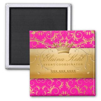 311金神ビジネス磁石の情熱のピンク マグネット