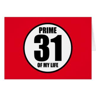 31 -私の生命の全盛 カード