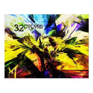 32色 ポストカード