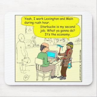 322のスクイージの人色の漫画 マウスパッド
