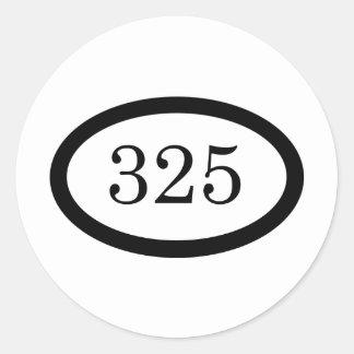 325のパラシュートの歩兵 ラウンドシール