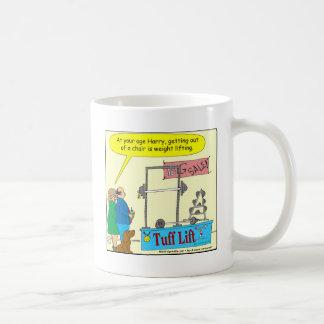 325より古い色の漫画を重量挙げおよび得ること コーヒーマグカップ