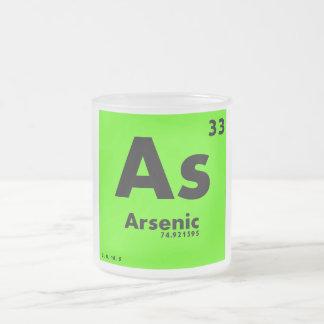 33要素のヒ素|の周期表 フロストグラスマグカップ