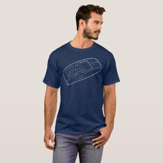3310レトロの電話Tシャツ Tシャツ