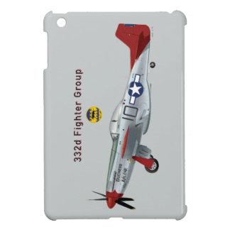 332d戦闘機のグループの赤い尾P-51Dムスタング iPad Miniケース