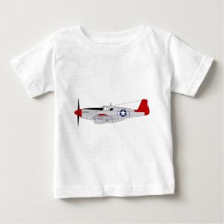 332nd戦闘機のグループ-赤い尾- Tuskegeeのパイロット ベビーTシャツ