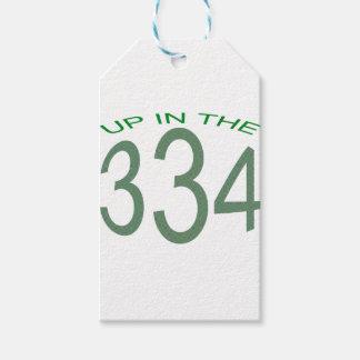 334の上(緑) ギフトタグ