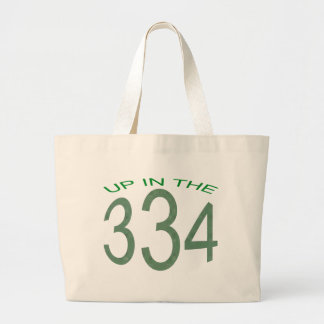 334の上(緑) ラージトートバッグ
