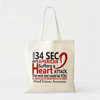 34秒毎に心臓病/攻撃 トートバッグ